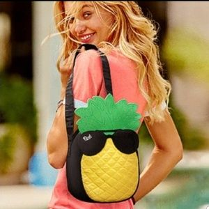 Victoria's Secret PINK Cooler Travel Pineapple Bag